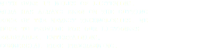 WITH OVER 13 MILES OF LISTENING, WLRA HAS ALWAYS BEEN ON THE CUTTING EDGE OF THE NEWEST TECHNOLOGIES. WE HOPE TO PROVIDE FOR OUR LISTENERS ENJOYABLE, ENTERTAINING, COMMERCIAL-FREE PROGRAMMING.