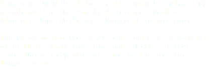 Tune into WLRA 88.1 fm for its annual fundraising broadcast for the Family Assistance Fund at Advocate Hope Children's Hospital in Oak Lawn. The program involves a 24-hour non-stop broadcast of students that take six-hour shifts. Select Lewis University students are on the air for longer stints.